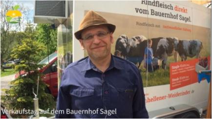 Verkaufstag auf dem Bauernhof Sagel in Bottrop [Video]