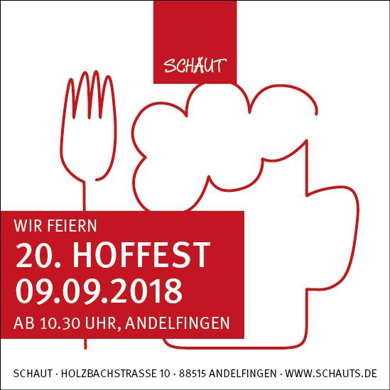 20. Schaut Hoffest