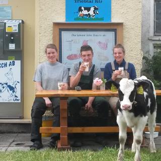 Milchgut Triebtal GmbH & CO KG in Trieb/Falkenstein