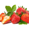 Erdbeeren im Kormann Thomas Brennerei, Hofladen in Ebermannstadt