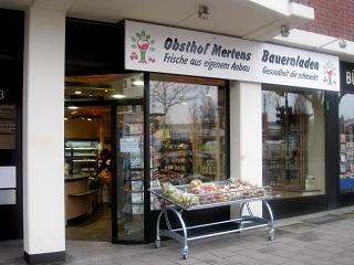 Obsthof Mertens - Der Bauernladen in -Düsseldorf