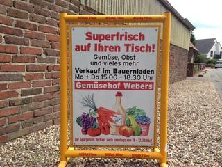 Gemüsehof Webers in Meerbusch